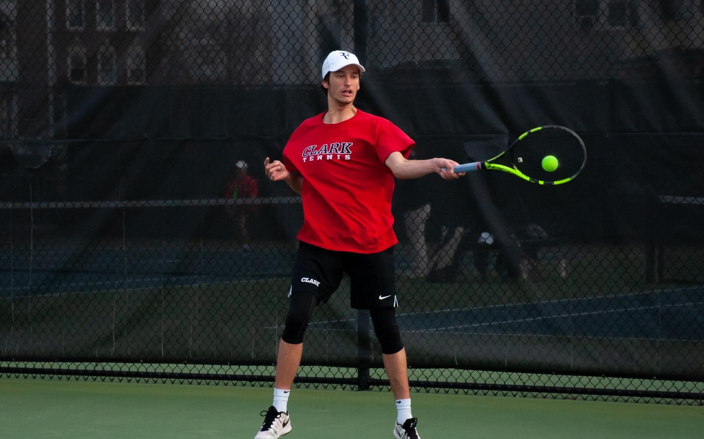 Men's Tennis Drops to Coast Guard in NEWMAC Match