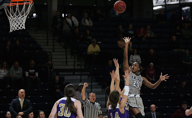 Trine Stays Unbeaten in Conference Play With Win Against Albion