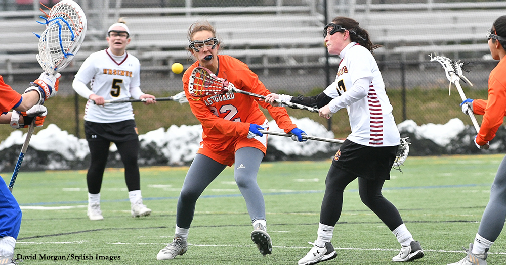Second-Half Run Sends Women's Lax to First Win