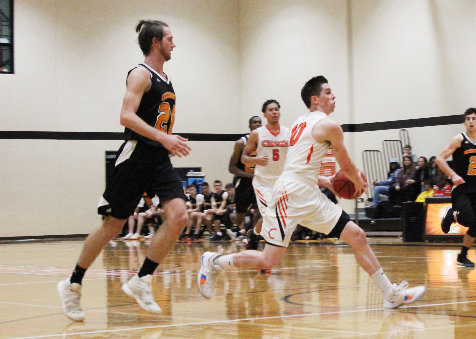 Men's Basketball Tests Oxy in Annual 110 Rivalry