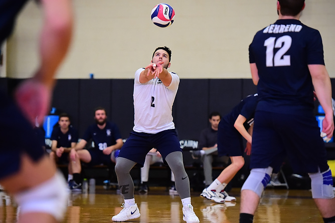 Behrend Men's Volleyball Secures No. 4 Seed for AMCC Championships