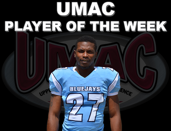 Adams Named UMAC Player of the Week For Second Consecutive Week