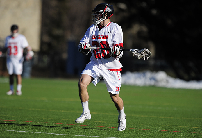 Men's Lacrosse Opens Centennial Play at No. 5 Gettysburg