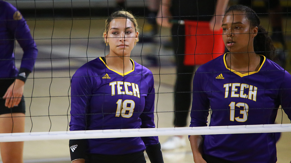 Tech volleyball falls on the road to red-hot Murray State