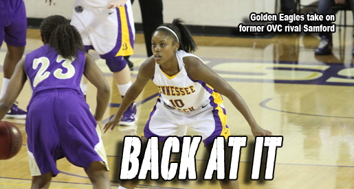 Golden Eagles head to Samford Saturday