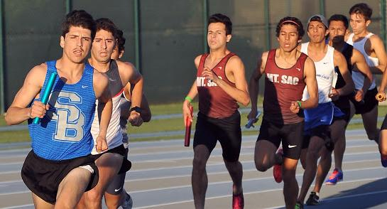 SBVC Men's Track & Field finishes 2nd in 3K run at CSULA Invitational
