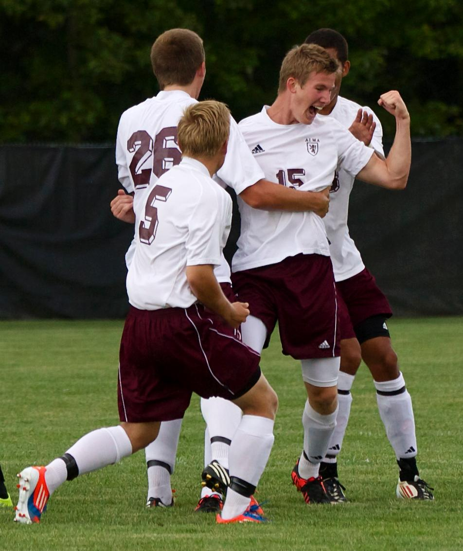Scots Men's Soccer notches their third win in a row with a 4-0 victory at Benedictine (Ill.)