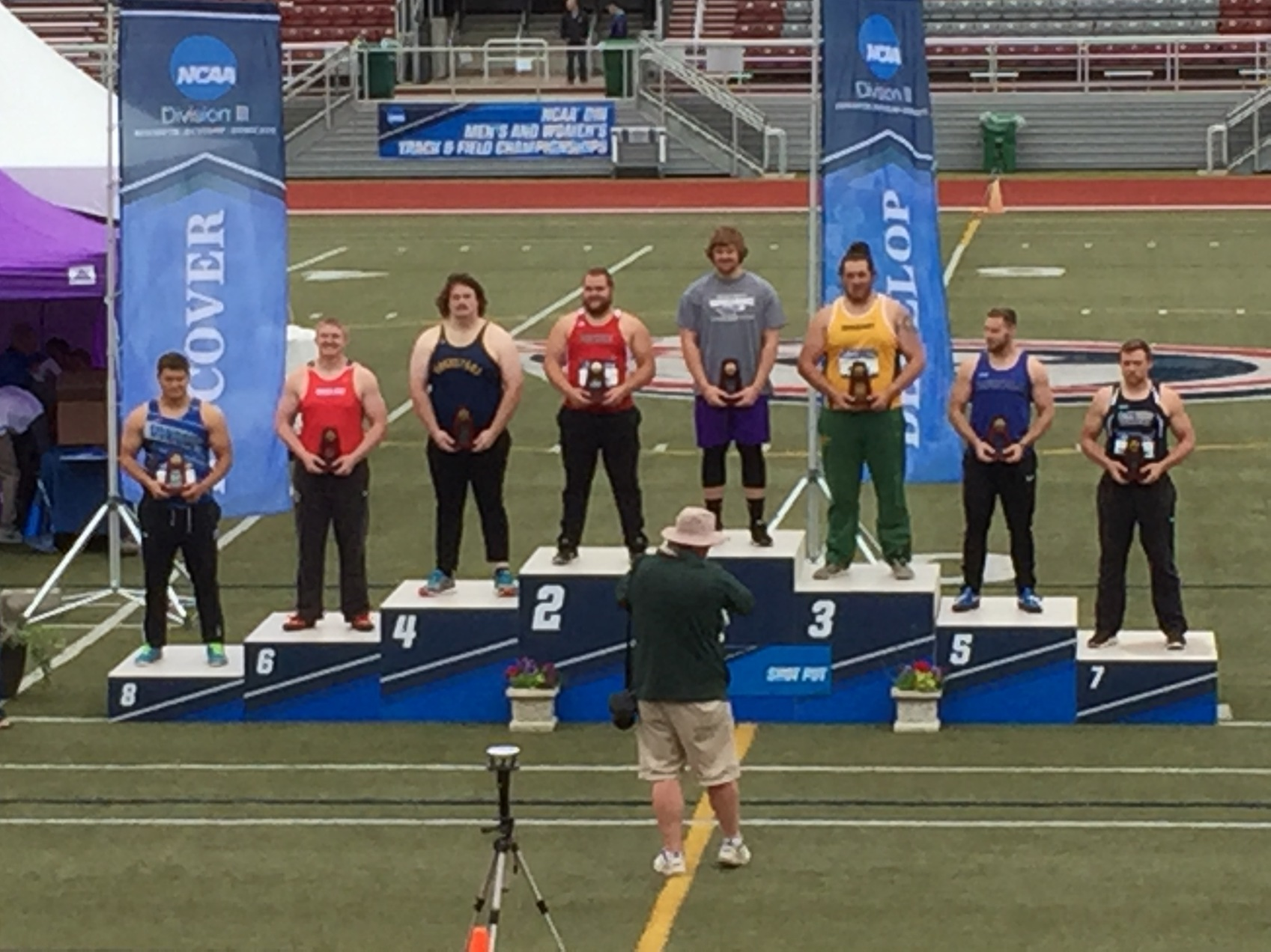 Obenrader All-American in Shot Put; Places Seventh at NCAA Championships