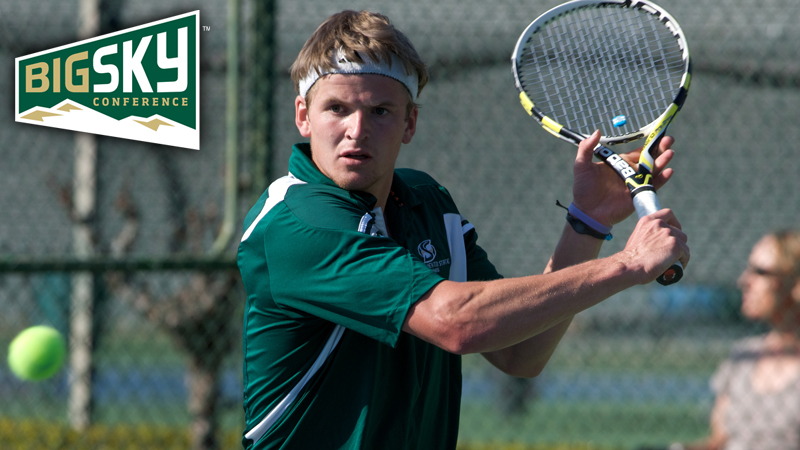 MILLER RECEIVES BIG SKY MEN'S TENNIS PLAYER OF THE WEEK HONORS