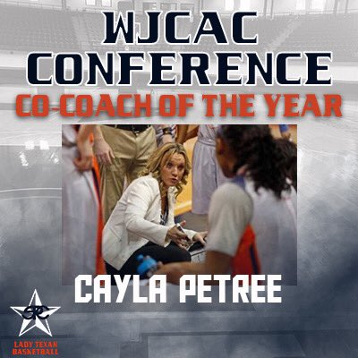 Cayla Petree tabbed as WJCAC Co-Coach of the Year, WBCA National Coach of the Year Finalist