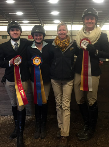Three Intermont Equestrian IHSA Riders Qualify For Nationals At Zone 4 Championships Saturday