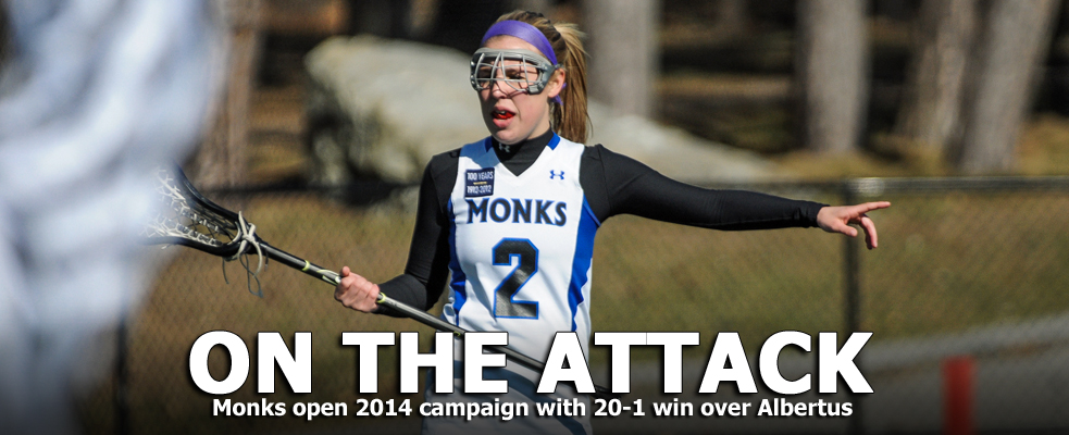 Women's Lacrosse Opens with Convincing Victory