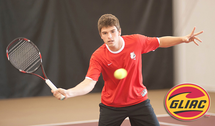 Men's Tennis Moves Into GLIAC Semifinals With Opening-Round Win