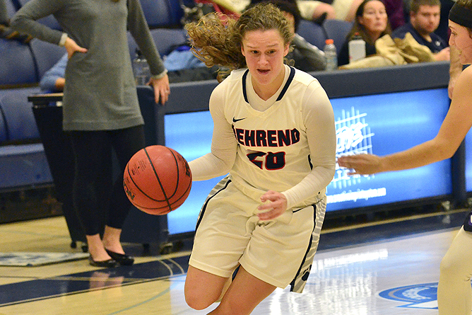 Stingy Defense Helps Hilbert Past Women's Basketball