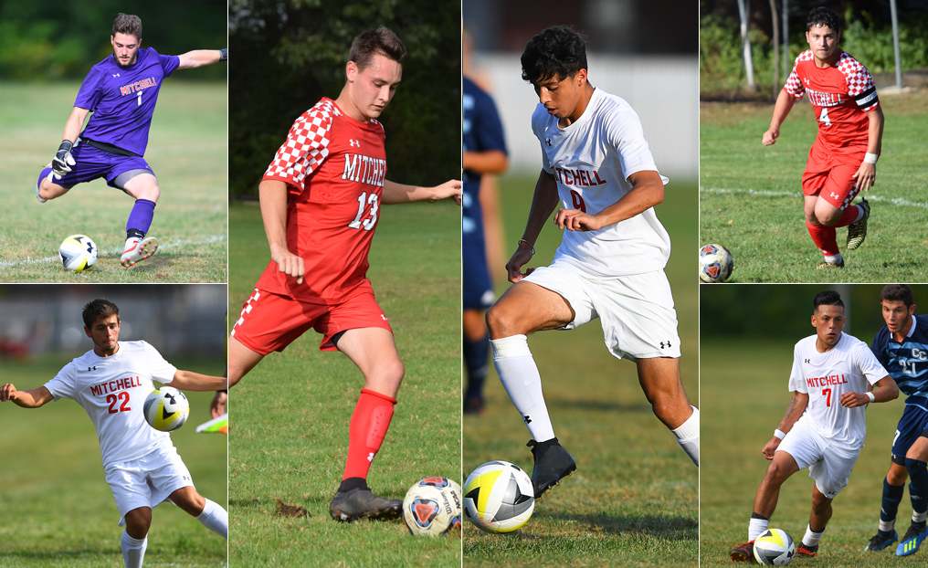 Six Men's Soccer Players Honored by the NECC