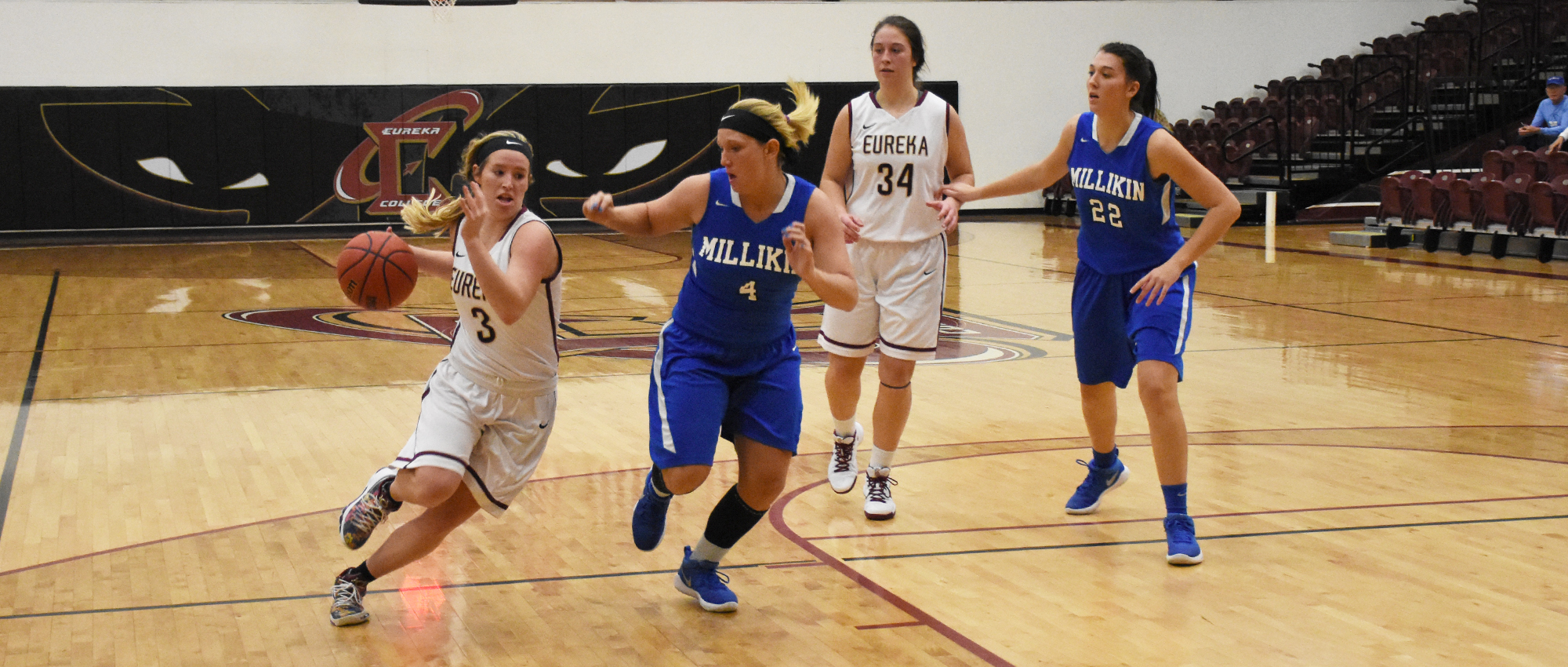 Millikin Pulls Away From Eureka, 82-73