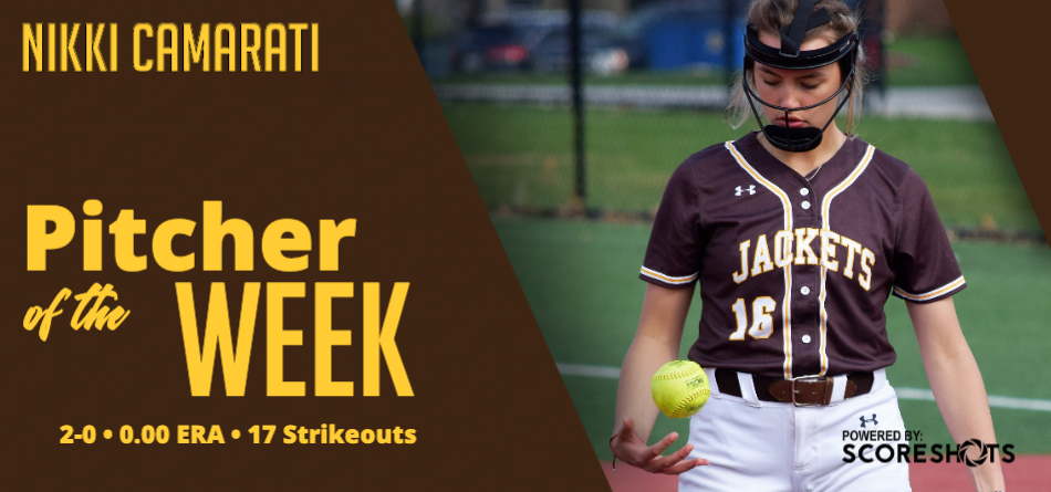Camarati Garners Fourth OAC Softball Pitcher of Week Accolade