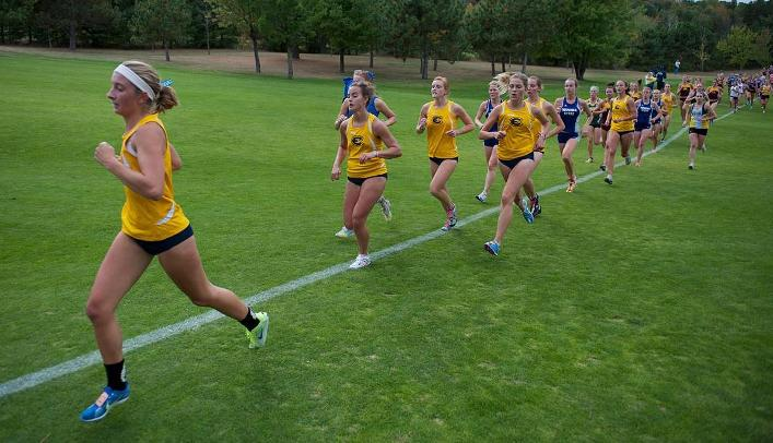 Women's Cross Country Takes Eighth at Griak Invitational