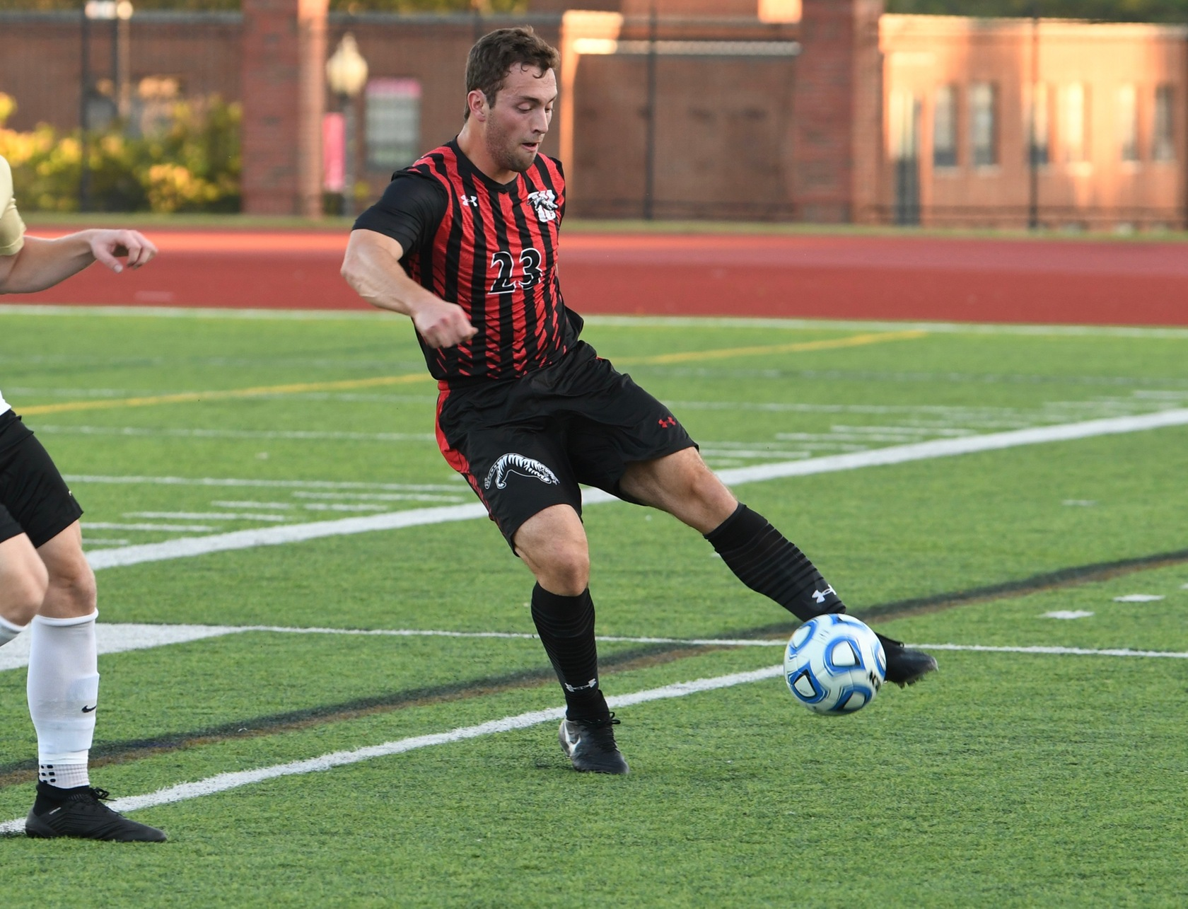 Senior Christian Randazzo and the Wittenberg men's soccer team dropped a 3-0 home decision against No. 22 Ohio Wesleyan on Tuesday night