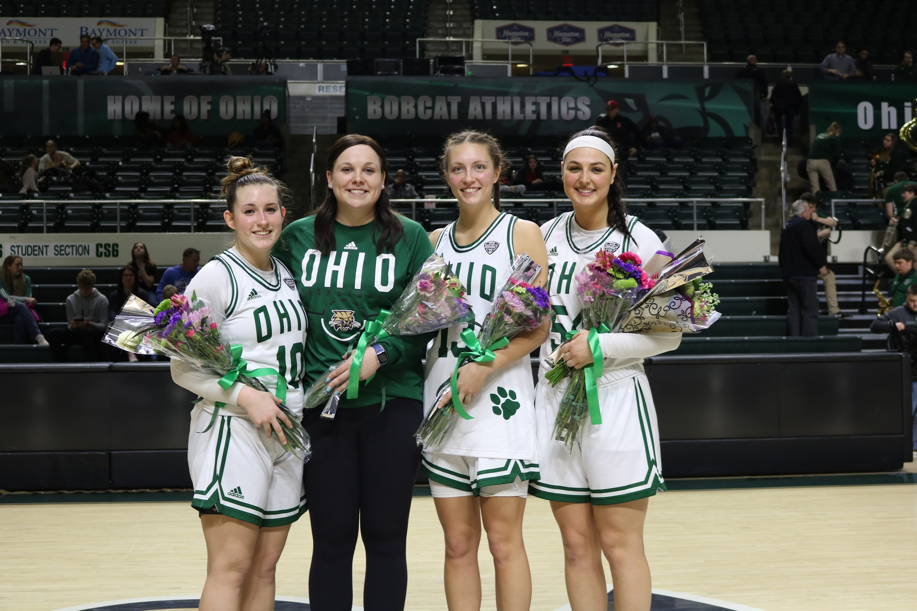 Ohio Women's Basketball Earns Senior Day Win Over Bowling Green, 76-68