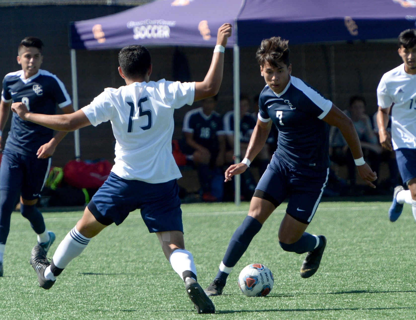 Pirates grind out 2-0 win over Southwestern