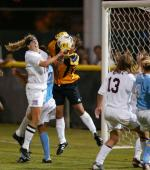 Osborne's Hat Trick Lifts Women's Soccer to Victory