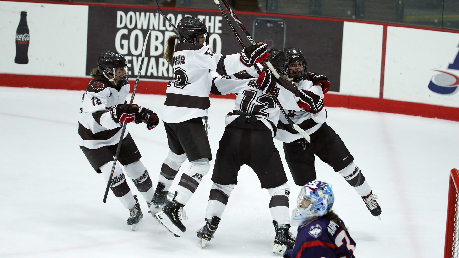 Brown Upsets Colgate at Home