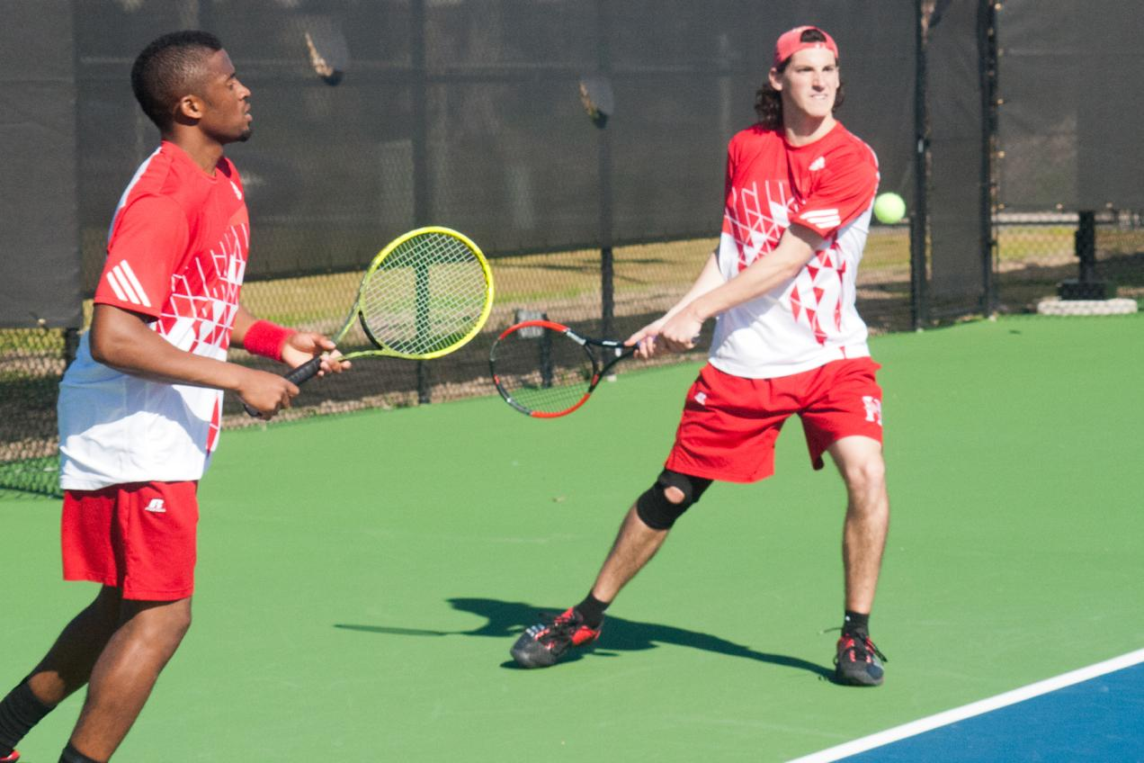 Huntingdon men's tennis picks up first win of the season