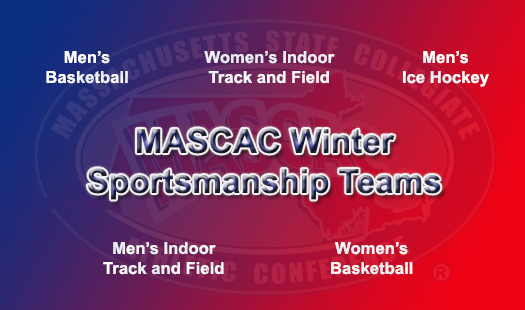 29 MASCAC Student-Athletes Honored on the 2018 Winter Sportsmanship Teams