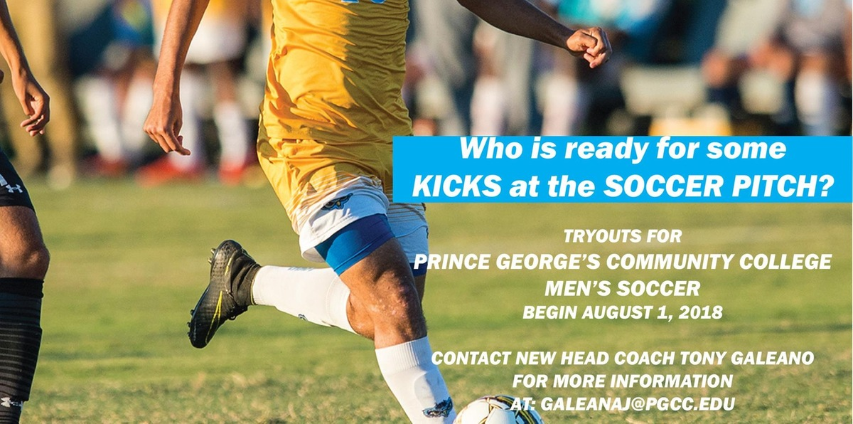 Prince George's Men's Soccer Tryouts Begin August 1; Interested In Playing A Sport For The Owls?