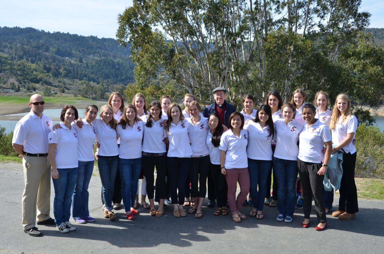 "Santa Clara Rowing Celebrates ""Black Velvet"""