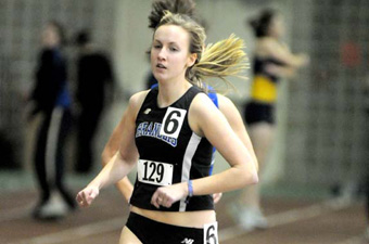Shanley wins mile as women's track takes fourth at Wheaton