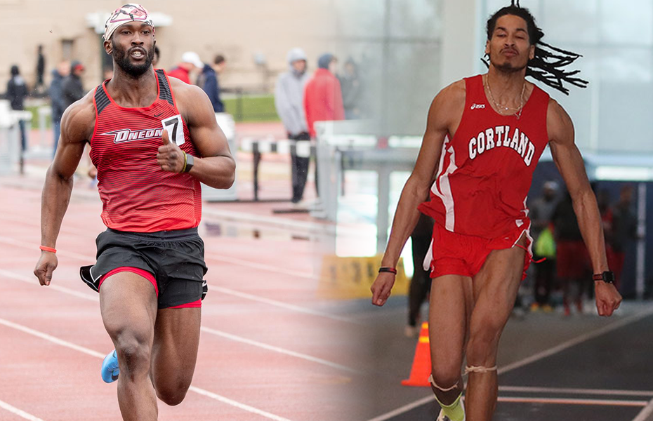 Two Red Dragons earn SUNYAC Men's Track & Field Weekly Honors