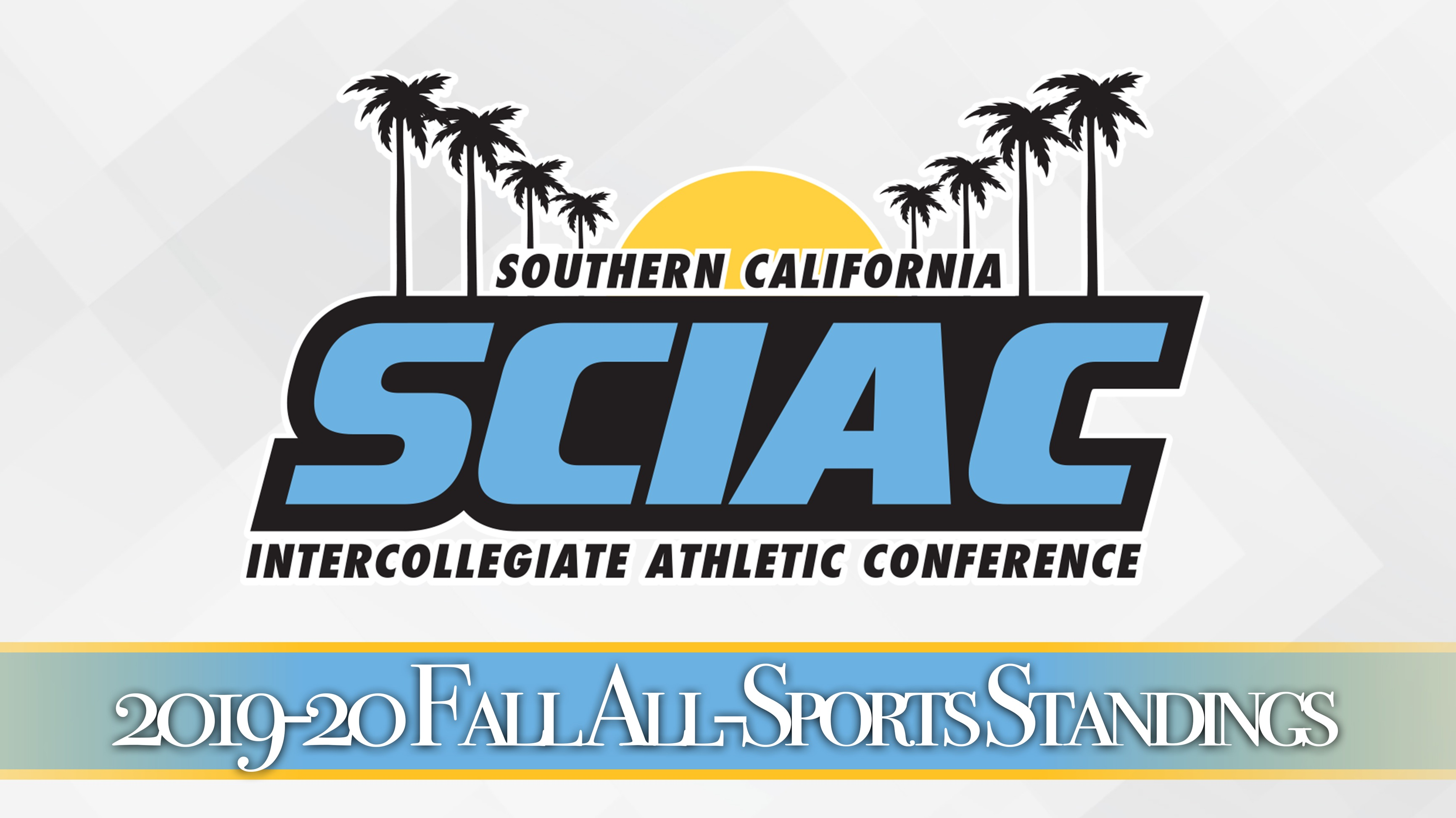 SCIAC Releases Fall All-Sports Standings