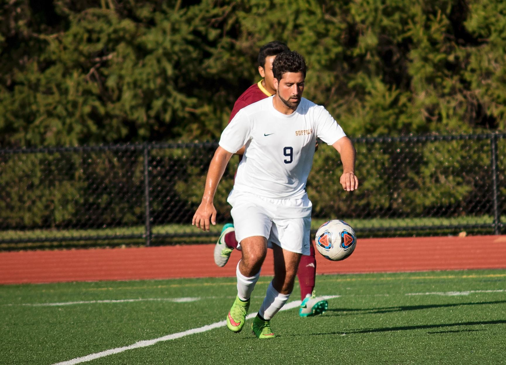 Men's Soccer Tops Anna Maria 5-1 on Saturday in GNAC Action