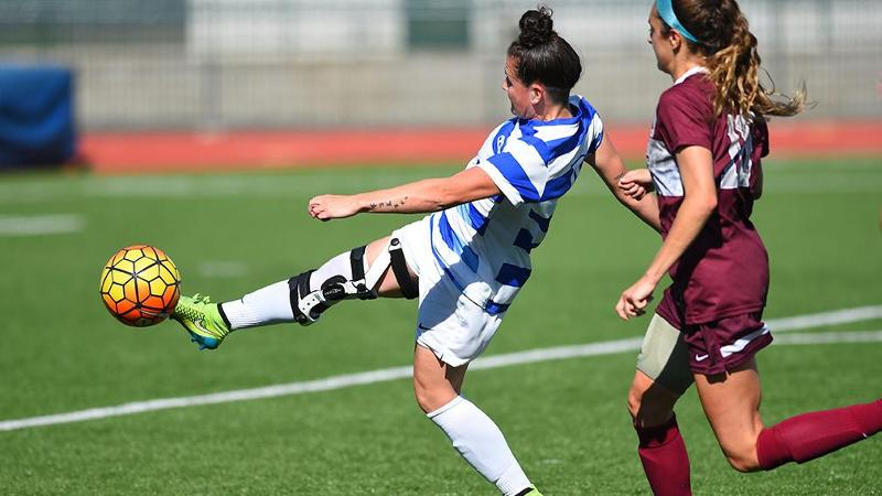 Women's Soccer Moves to 5-0 in NEC, Still Hasn't Allowed a Goal in League Play