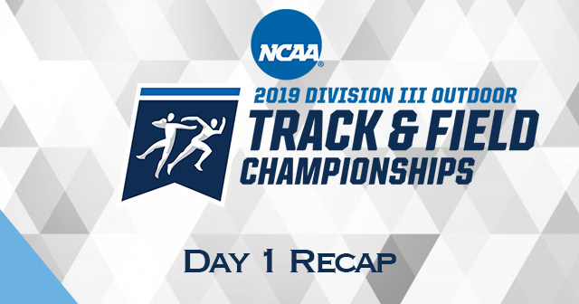 NCAA Outdoor Track & Field Championships - Day 1 Recap