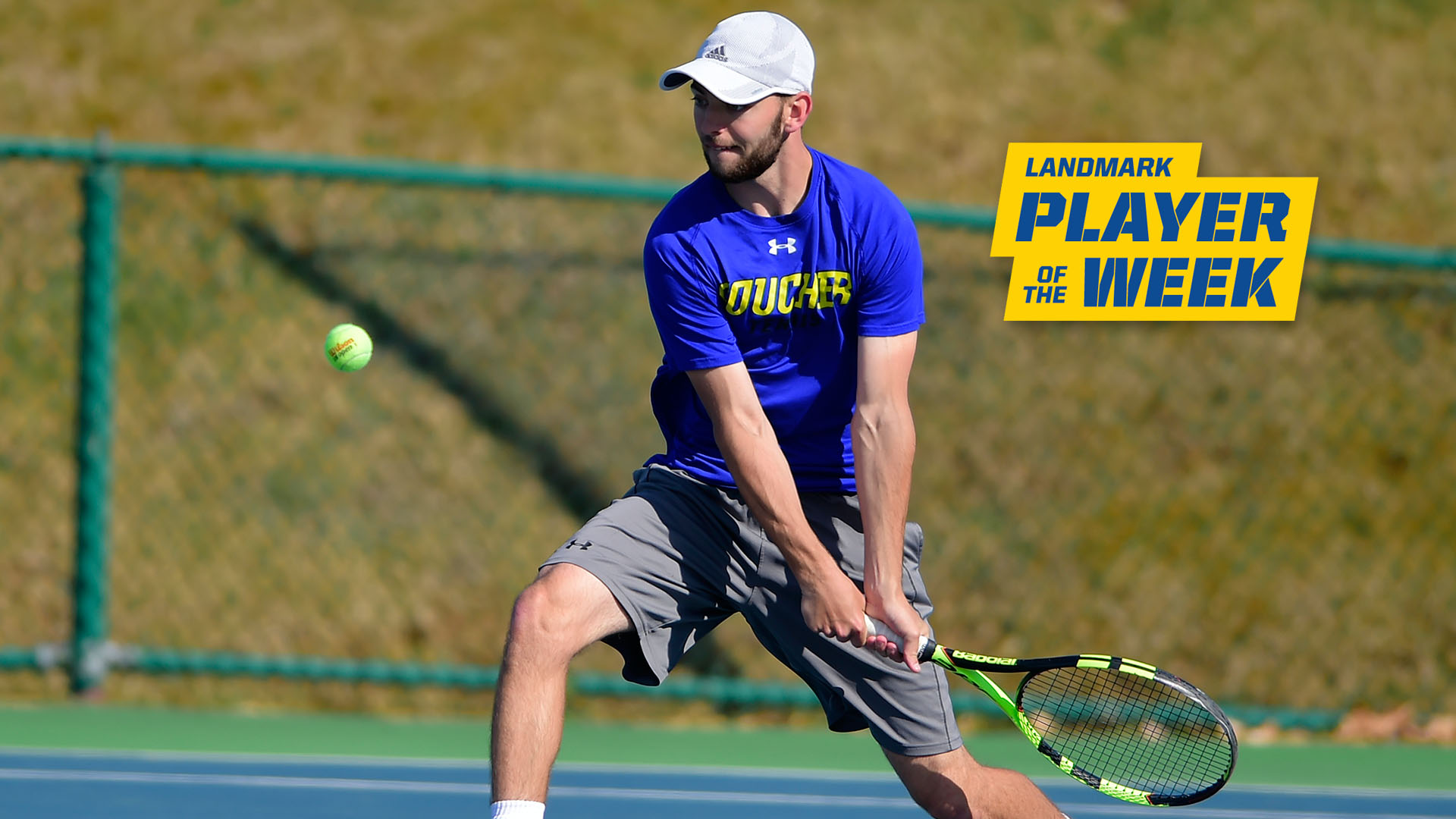 Dumas Receives Third Career Landmark Conference Men's Tennis Athlete Of The Week Recognition
