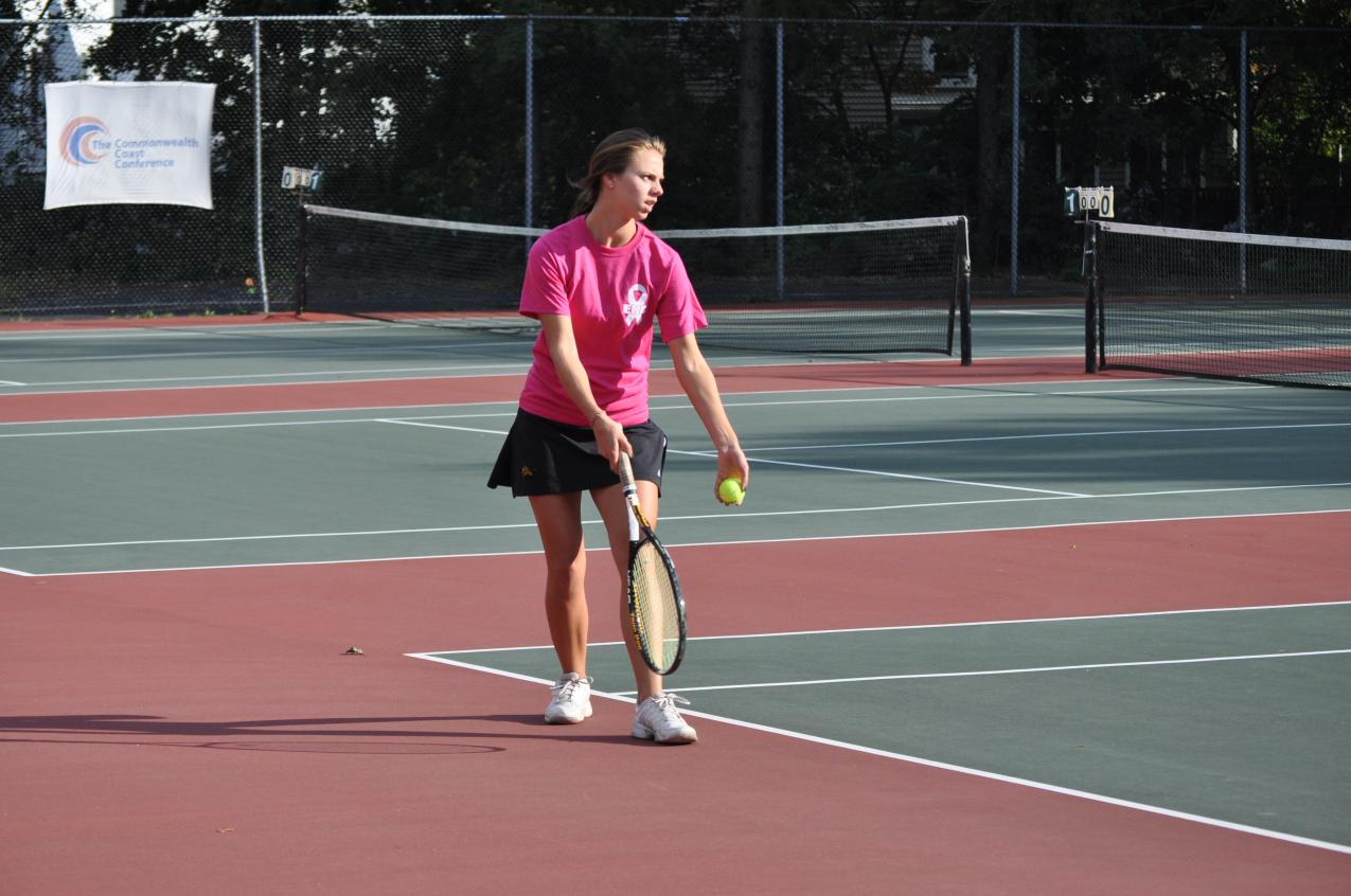 Women's Tennis Open CCC Play with Loss at Salve Regina