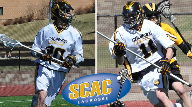 Colorado College's McCormick, Higgins Named SCAC Men's Lacrosse Players of the Week