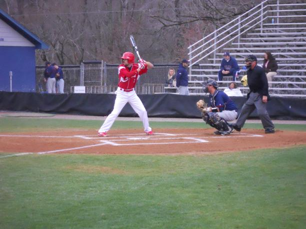 Ryan Horvath prepares for the pitch against No. 3 Louisburg. Photo courtesy of Owens Sports Information