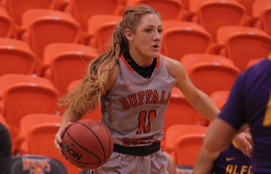 Buffalo State's LeBaron named SUNYAC Athlete of the Week for second week in a row