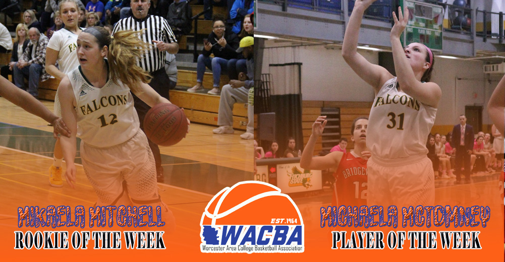 Falcons Duo Earn WACBA Weekly Honors