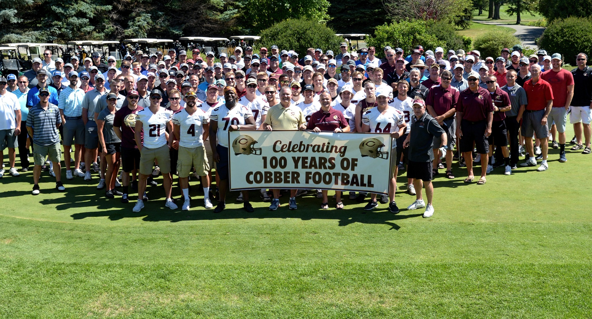 The Biggest Alumni Golf Outing Ever