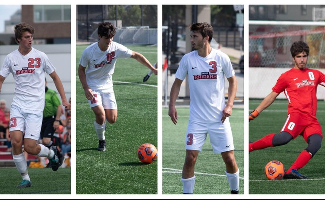Four Named To All-NACC Men's Soccer Teams