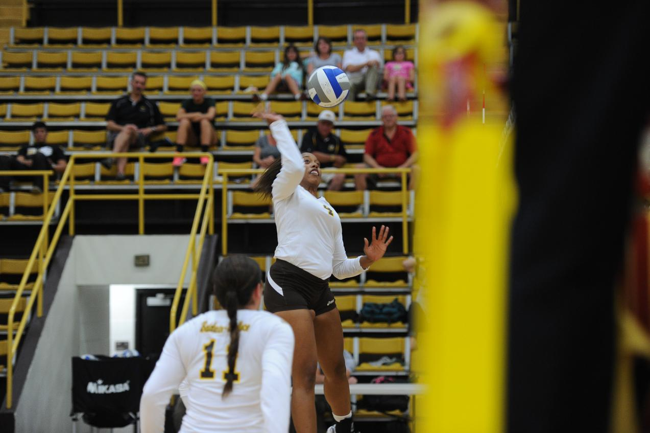 BW Volleyball Splits on First Day of OAC/ HCAC Challenge