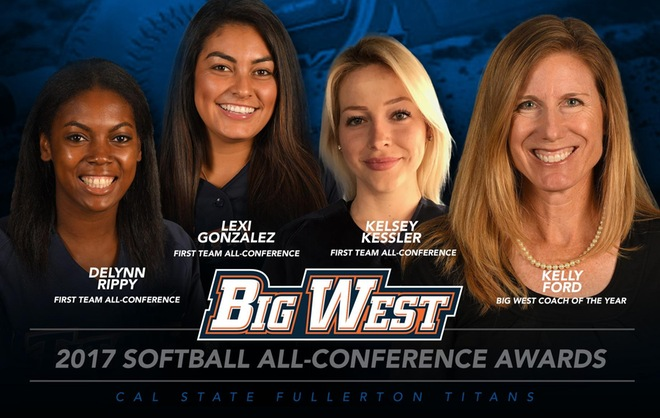 Nine Titans Earn Big West Conference Awards