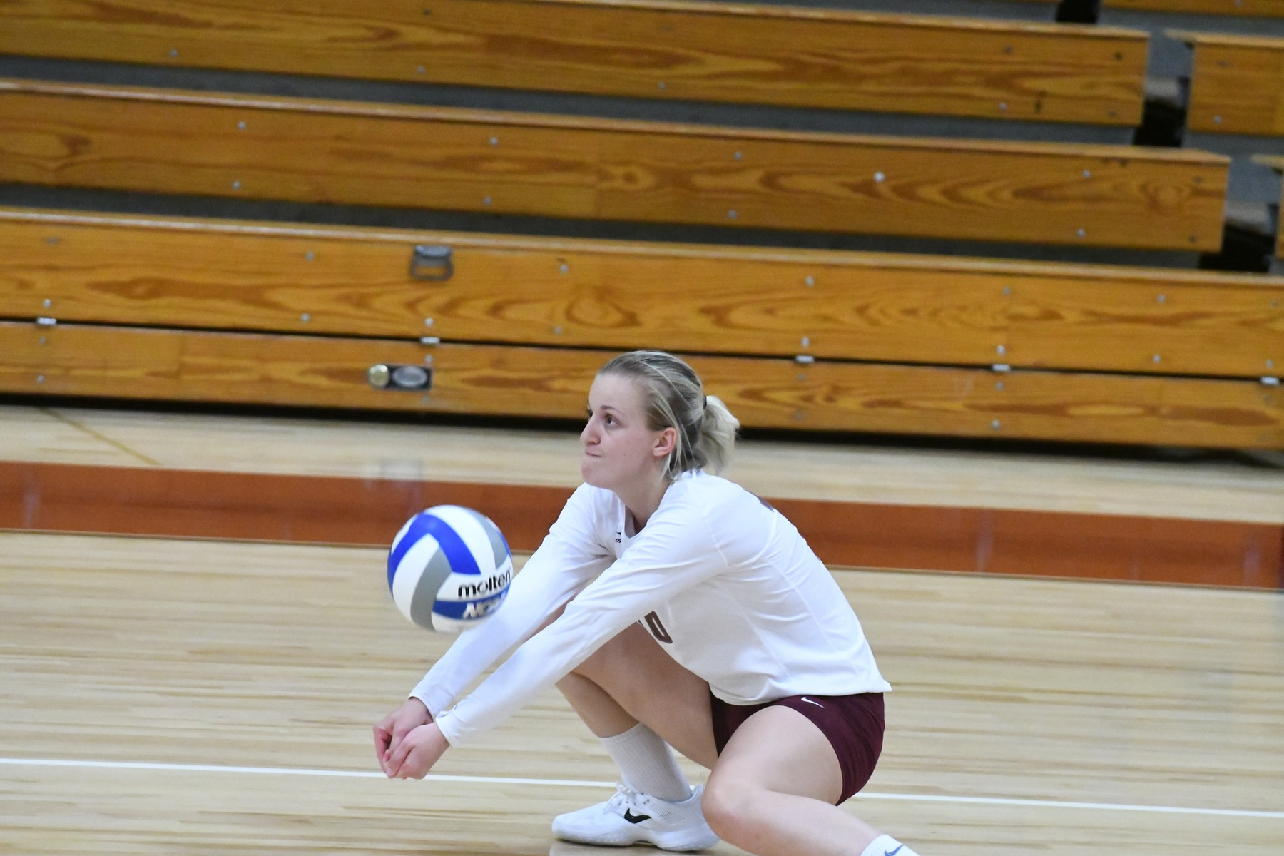 Volleyball: Cardinals defeat Cadets in four sets, 3-1