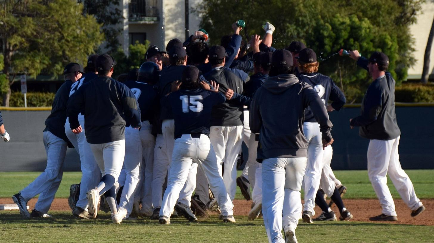 Baseball team rallies, wins on Wagner's double in the ninth