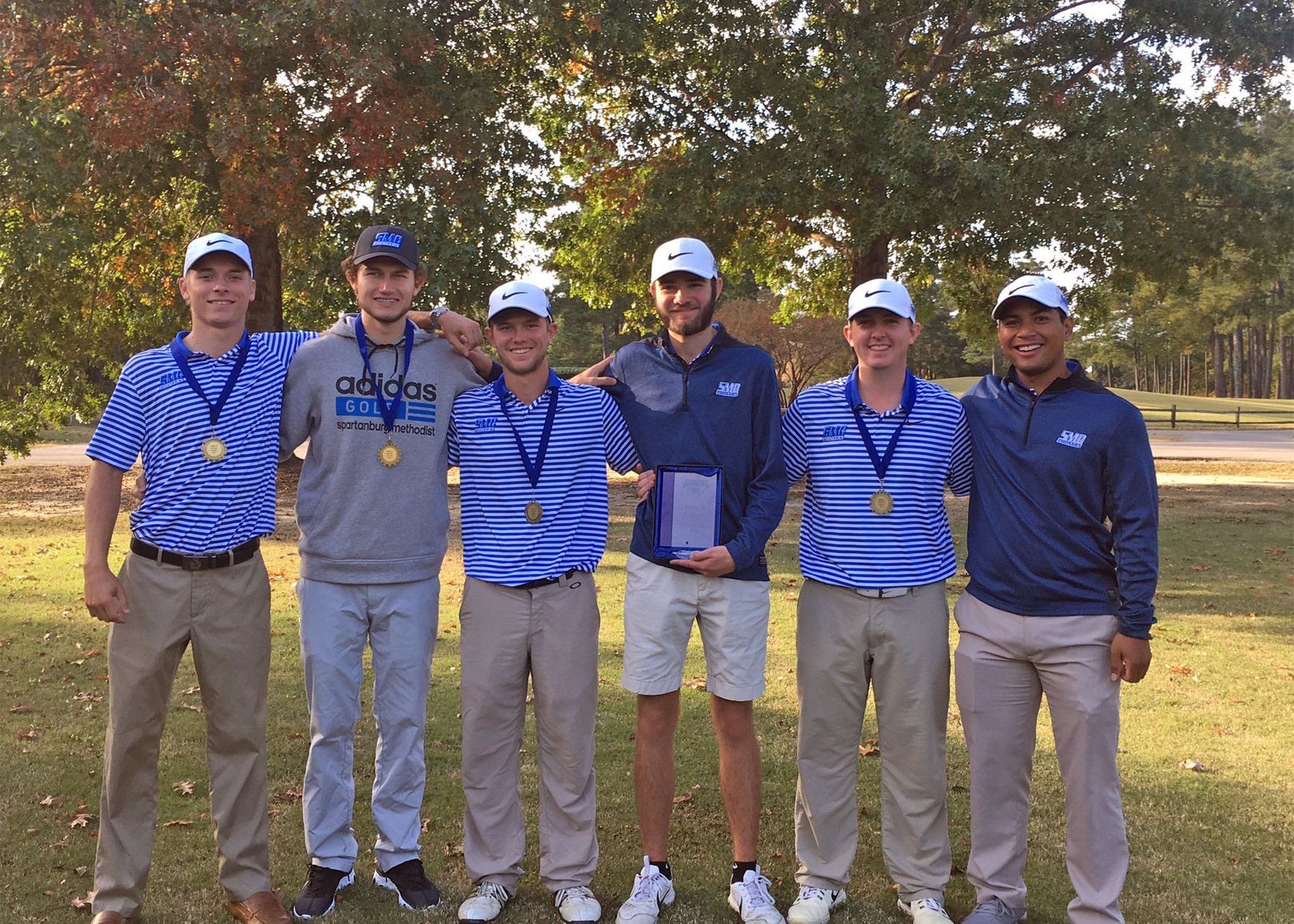 Men's Golf Claims Region X Title